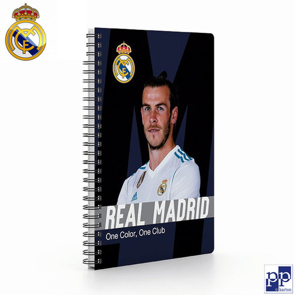 Karton P+P Real Madrid - Тетрадка спирала А5, 66 листа Реал Мадрид 7-50318