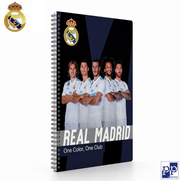 Karton P+P Real Madrid - Тетрадка спирала А4, 68 листа Реал Мадрид 7-50918