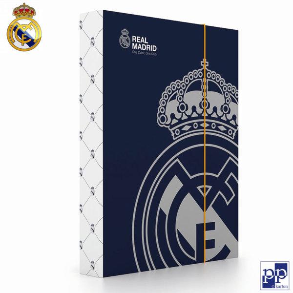 Karton P+P Real Madrid - Папка кутия с ластик Реал Мадрид 5-70318