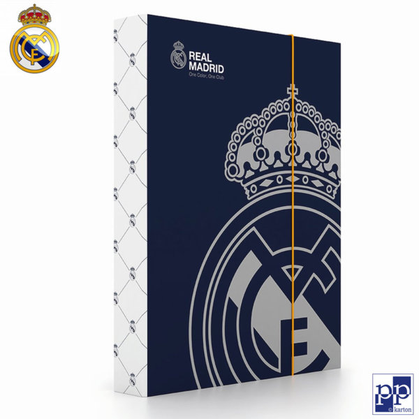 Karton P+P Real Madrid - Папка кутия с ластик Реал Мадрид 5-70318
