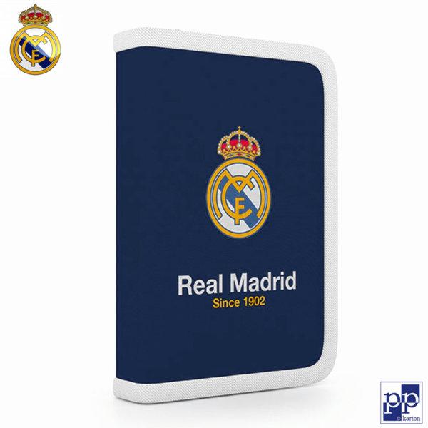 Karton P+P Real Madrid - Ученически несесер с 1 цип Реал Мадрид 1-54518