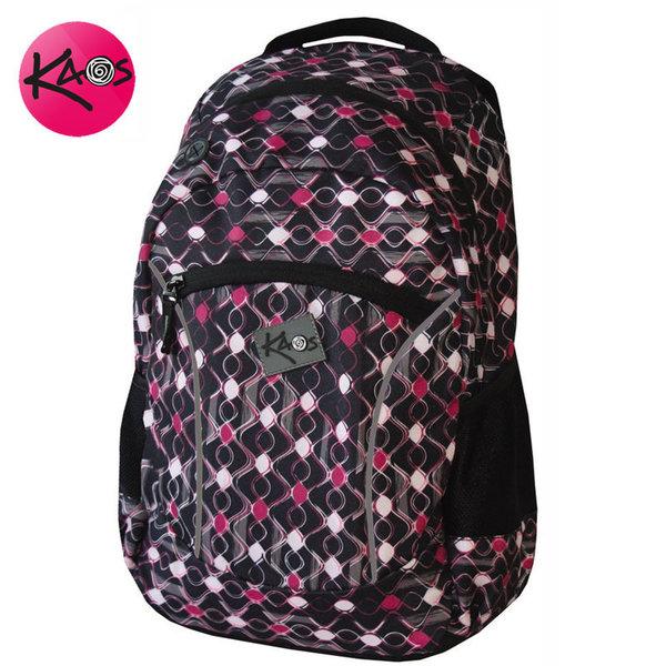 KAOS - Ученическа раница Pink waves 21286