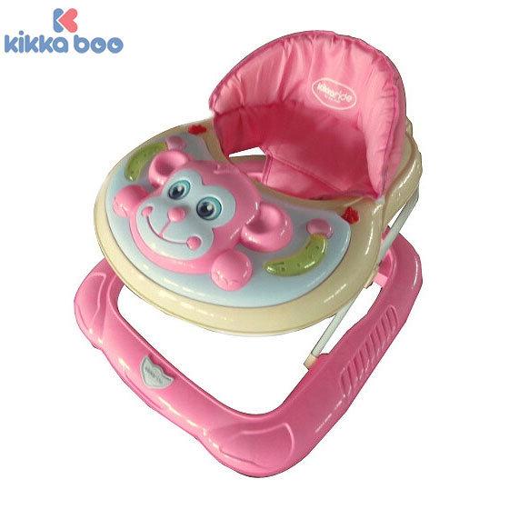 Kikka Boo - Проходилка Monkey Light Pink 31005030020