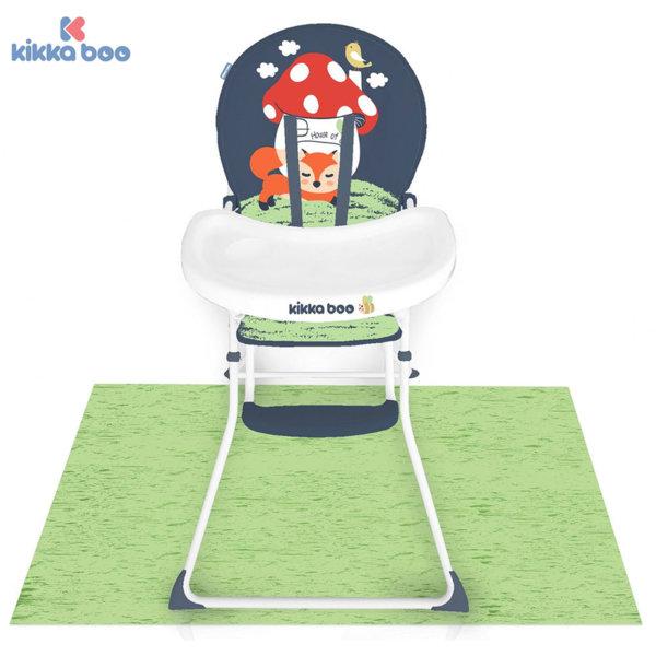 Kikka Boo - Стол за хранене с предпазна постелка My Forest Foxy 31004010047