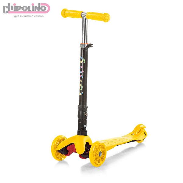 Chipolino - Детски скутер Рони жълт