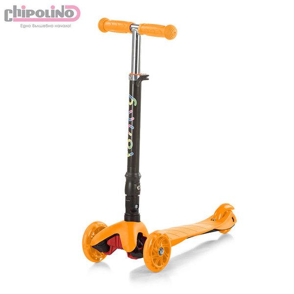 Chipolino - Детски скутер Рони оранжев