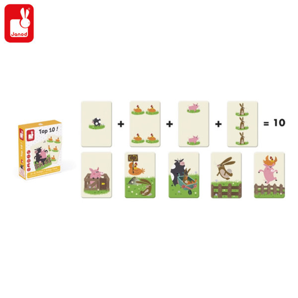 Janod - Детска стратегическа игра ТОП 10 J02760