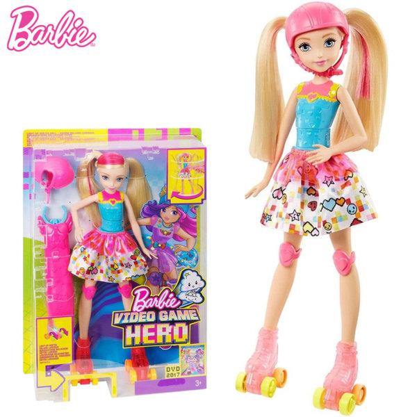 Barbie - Кукла Барби с ролкови кънки DTW17