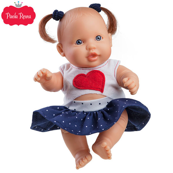 Paola Reina - Los Peques Кукла бебе Greta 21см 00119