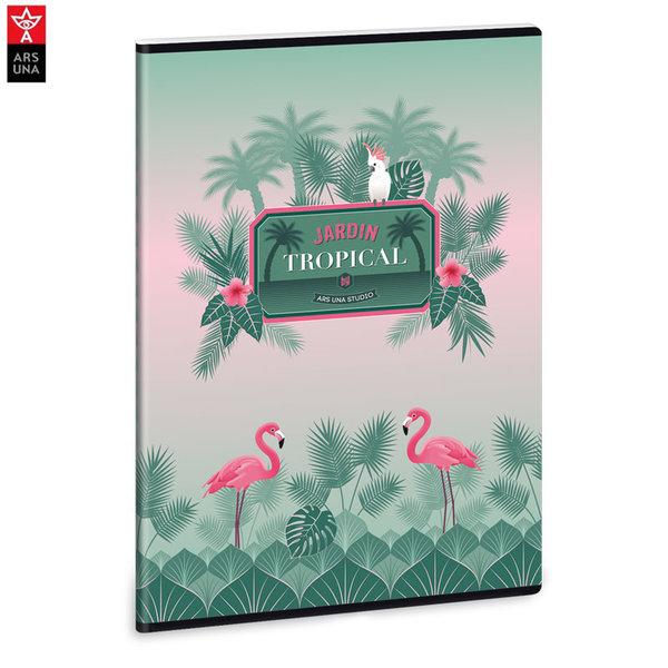 Ars Una - Pink Flamingo Ученическа тетрадка А4, 40 листа 93118682