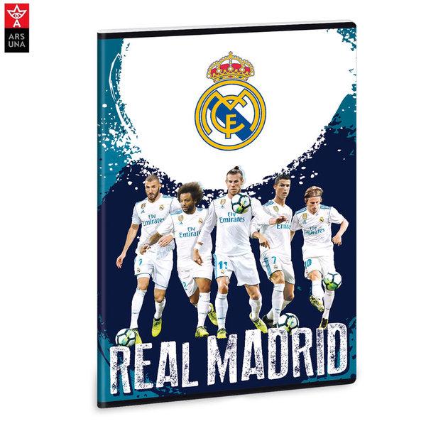Real Madrid - Тетрадка А4 40 листа Реал Мадрид Ars Una 93118545