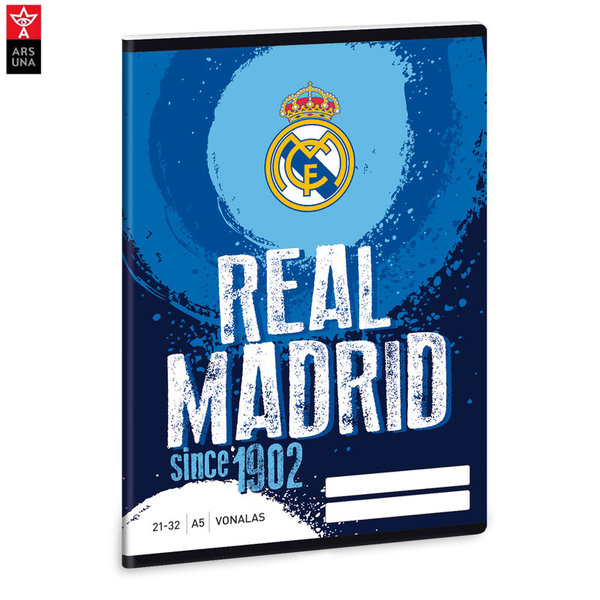 Real Madrid - Тетрадка А5 32 листа Реал Мадрид Ars Una 93628389