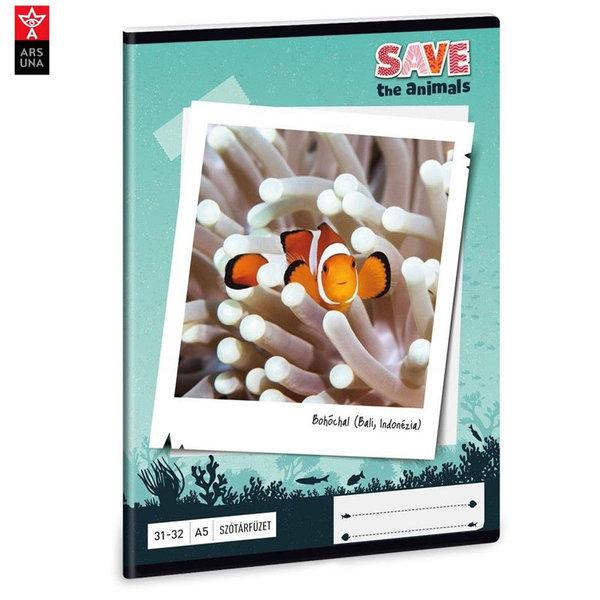Ars Una - Animals Тетрадка А5 32 листа Риба Клоун 93628259