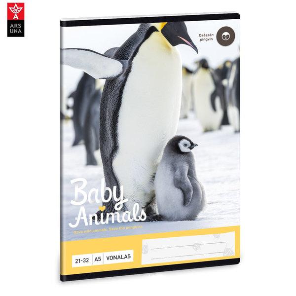 Ars Una - Animals Тетрадка А5 32 листа Пингвин 93628242