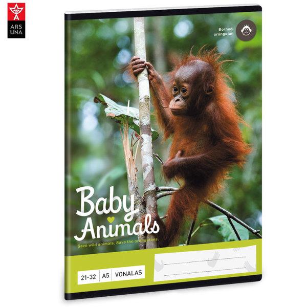 Ars Una - Animals Тетрадка А5 32 листа Орангутан 93628235