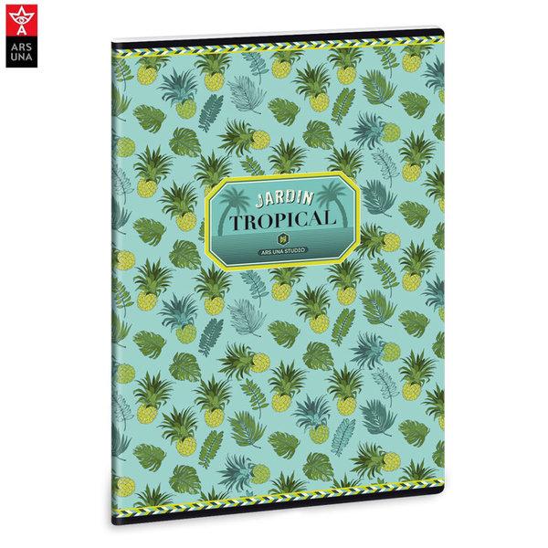 Ars Una - Yellow Pineapple Ученическа тетрадка А4, 40 листа 93118699
