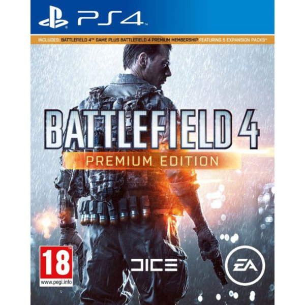 Игра за PS4 - Battlefield 4 Premium Edition