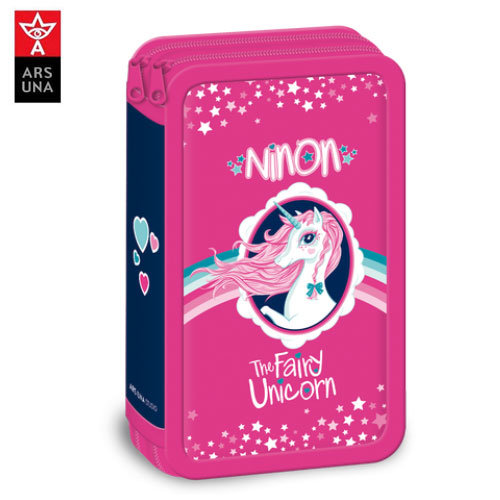 Ars Una - Ninon Ученически несесер с 2 ципа 92667051
