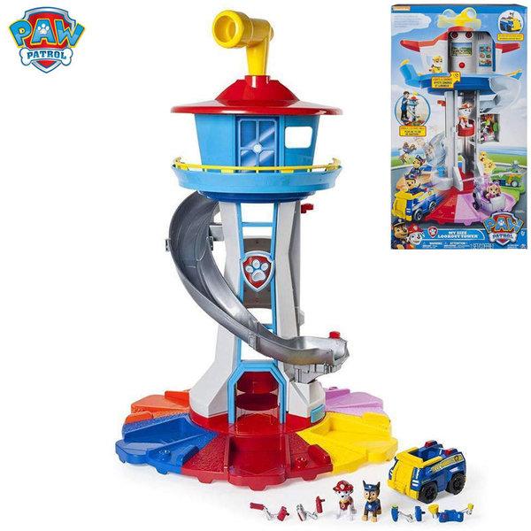 Paw Patrol - Голяма кула с наблюдателница Пес Патрул My Size Lookout Tower 6037842