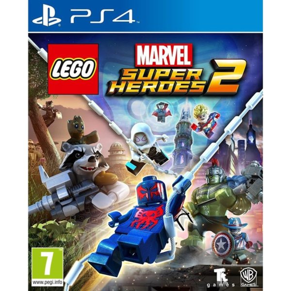 Игра за PS4 - LEGO Marvel Super Heroes 2