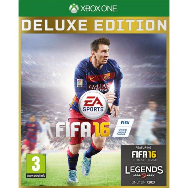 Игра за Xbox One - FIFA 16 Deluxe Edition