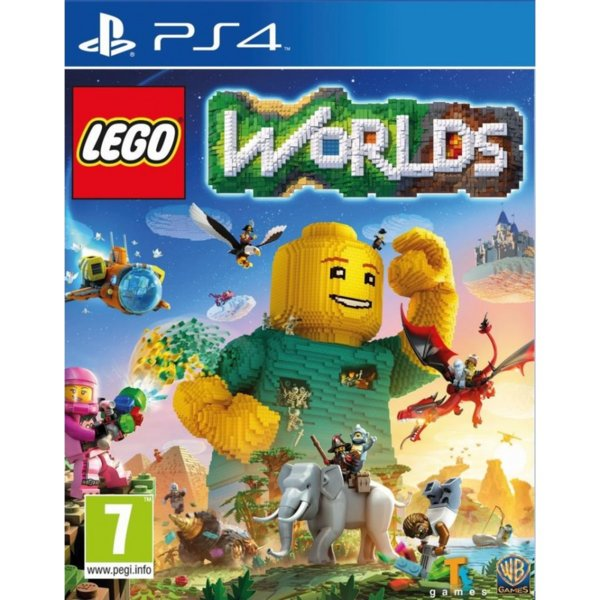 Игра за PS4 - Lego Worlds