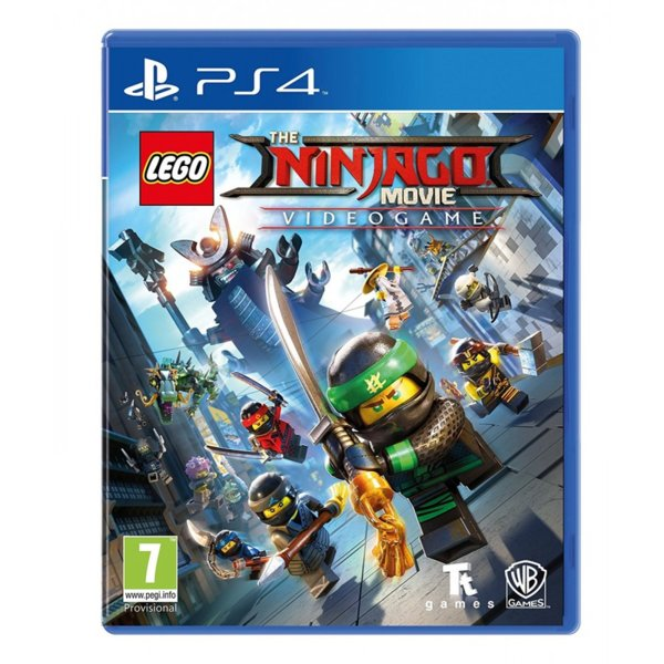 Игра за PS4 - LEGO Ninjago Movie Video Game