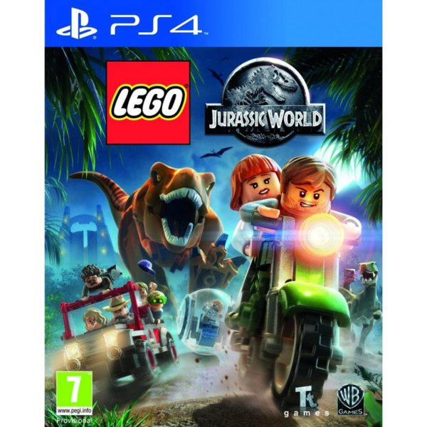 Игра за PS4 - Lego Jurassic World