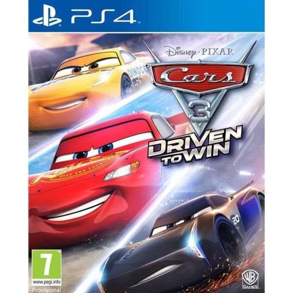 Игра за PS4 - Cars 3 Driven To Win