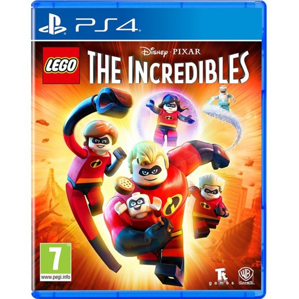 Игра за PS4 - LEGO The Incredibles