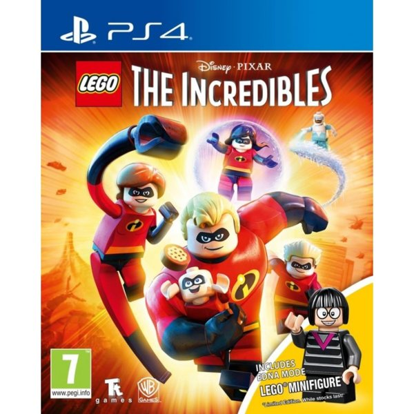 Игра за PS4 - LEGO The Incredibles Minifigure Edition