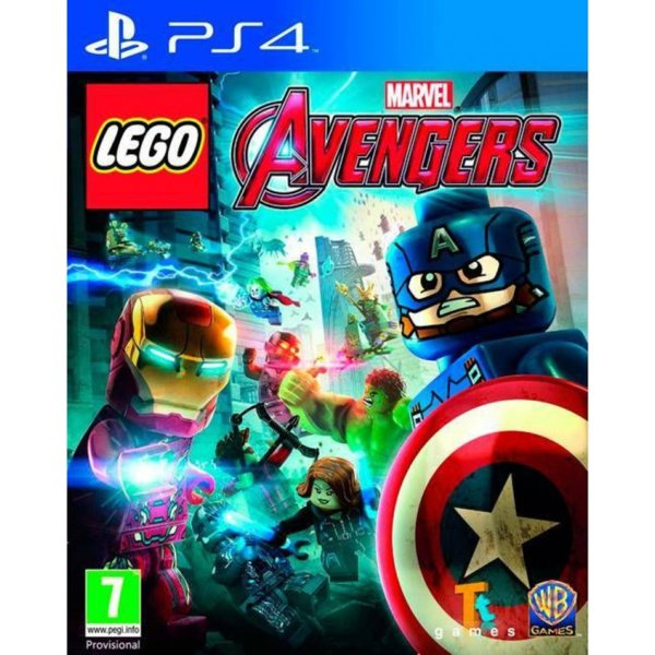 Игра за PS4 - LEGO Marvel's Avengers