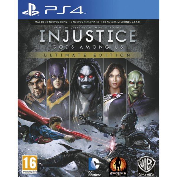 Игра за PS4 - Injustice: Gods Among Us Ultimate Edition