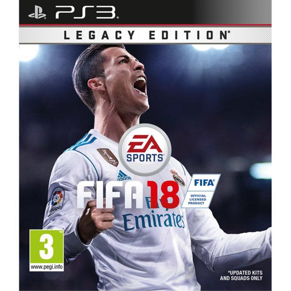 Игра за PS3 - FIFA 18 Legacy Edition
