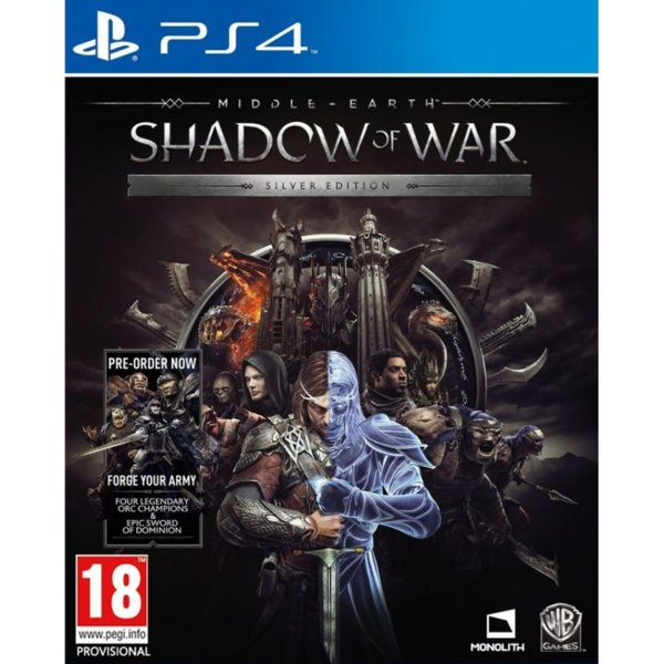 Игра за PS4 - Middle-Earth: Shadow of War Silver Edition