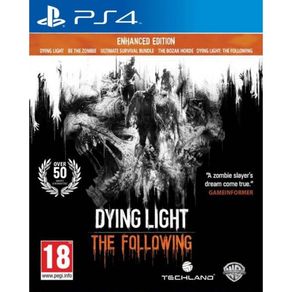 Игра за PS4 - Dying Light: The Following Enhanced Edition