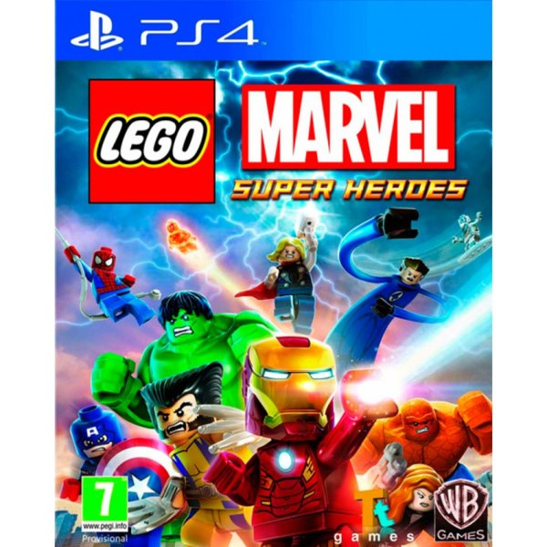 Игра за PS4 - LEGO Marvel Super Heroes