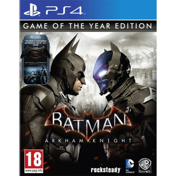Игра за PS4 - Batman: Arkham Knight Game Of the Year Edition
