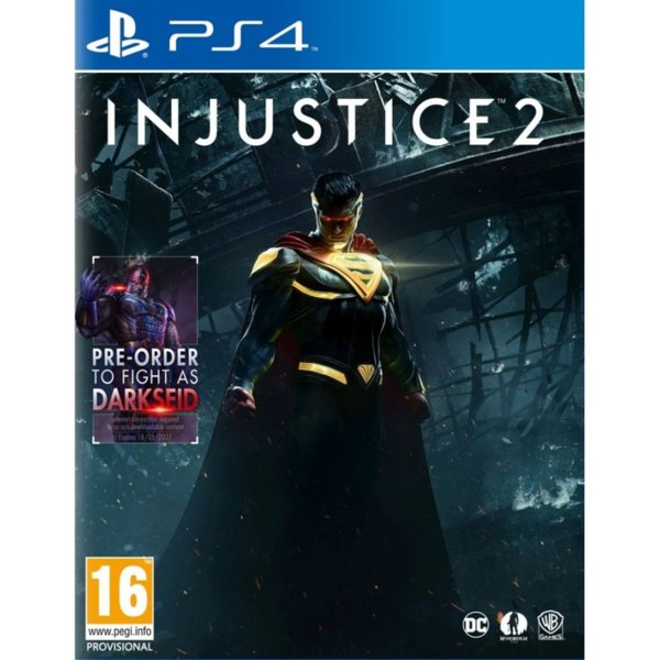 Игра за PS4 - Injustice 2 Day 1 Edition