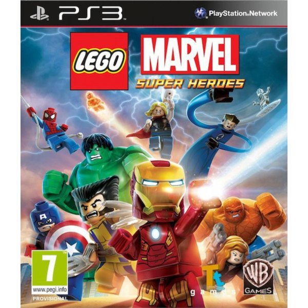 1Игра за PS3 - LEGO Marvel Super Heroes