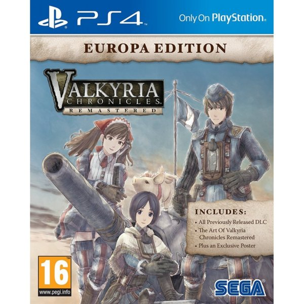 1Игра за PS4 - Valkyria Chronicles Remastered Europa Edition