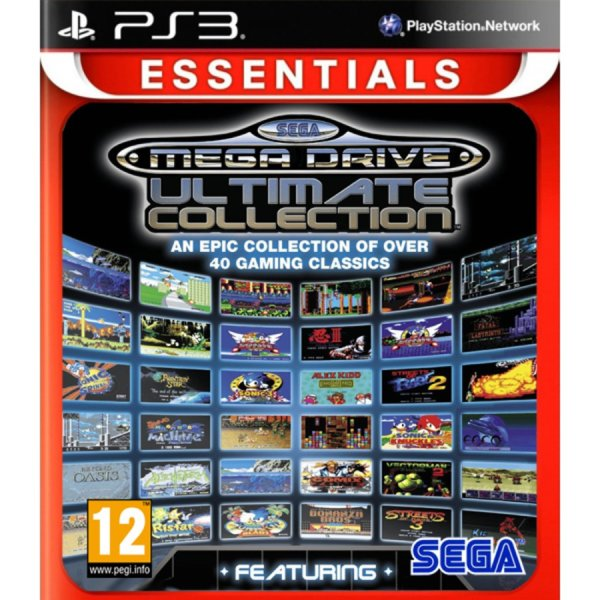 1Игра за PS3 - SEGA Mega Drive Ultimate Collection - Essentials