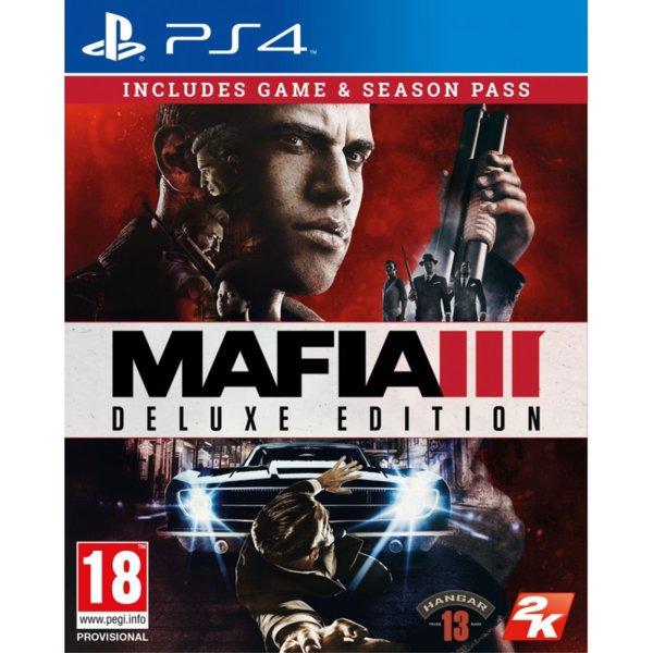 1Игра за PS4 - Mafia III Deluxe Edition