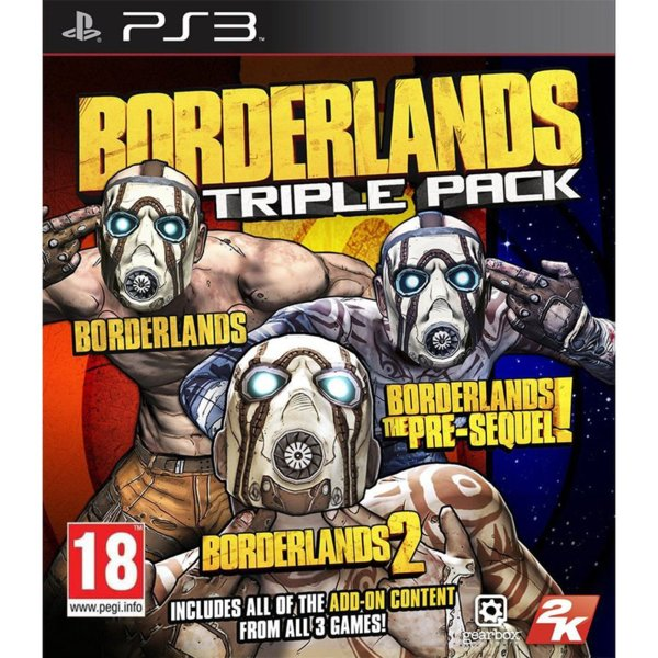 1Игра за PS3 - Borderlands Triple Pack