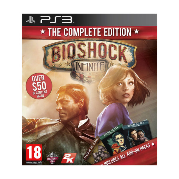 1Игра за PS3 - BioShock Infinite: The Complete Edition