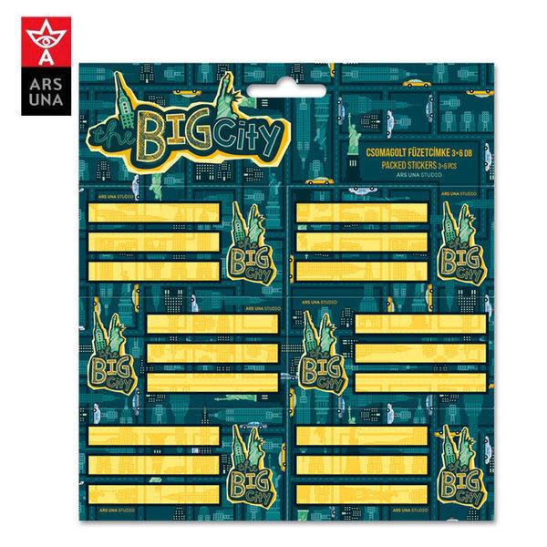 Ars Una - The Big City Ученически етикети Ars Una 93838436