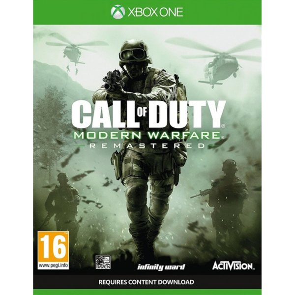 1Игра за Xbox One - Call of Duty: Modern Warfare Remastered