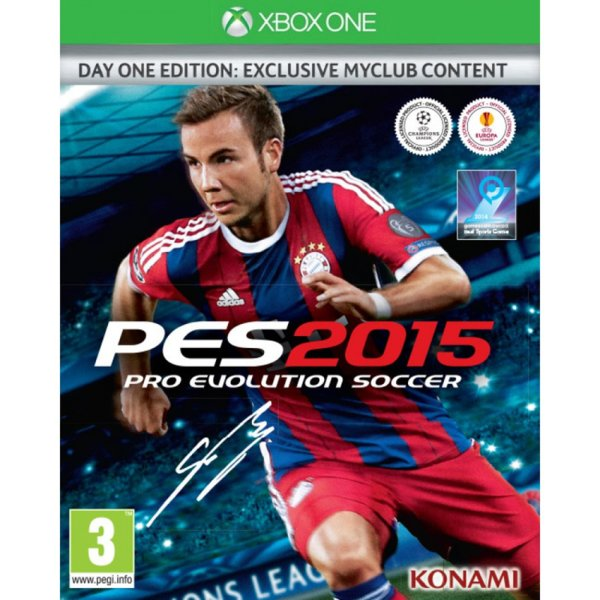 1Игра за Xbox One - Pro Evolution Soccer 2015 Day 1 Edition