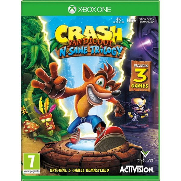 1Игра за Xbox One - Crash Bandicoot N. Sane Trilogy