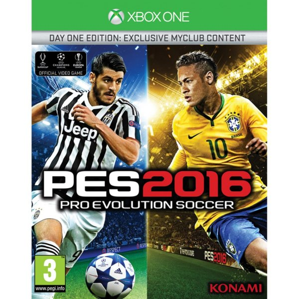 1Игра за Xbox One - Pro Evolution Soccer 2016 Day 1 Edition